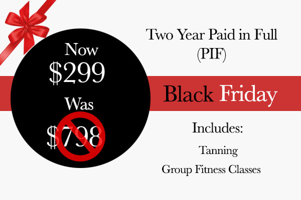 Black Friday 2 yr MEMBERSHIP